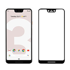Ultra Clear Full Screen Protector Tempered Glass F03 for Google Pixel 3 XL Black