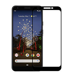 Ultra Clear Full Screen Protector Tempered Glass F03 for Google Pixel 3a Black