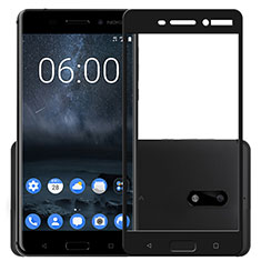 Ultra Clear Full Screen Protector Tempered Glass F03 for Nokia 6 Black