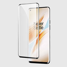 Ultra Clear Full Screen Protector Tempered Glass F03 for OnePlus 8 Pro Black