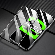 Ultra Clear Full Screen Protector Tempered Glass F03 for Oppo Ace2 Black