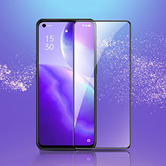 Ultra Clear Full Screen Protector Tempered Glass F03 for Oppo Reno5 5G Black