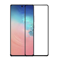 Ultra Clear Full Screen Protector Tempered Glass F03 for Samsung Galaxy S10 Lite Black