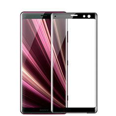 Ultra Clear Full Screen Protector Tempered Glass F03 for Sony Xperia XZ2 Black