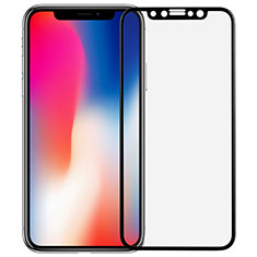 Ultra Clear Full Screen Protector Tempered Glass F04 for Apple iPhone X Black