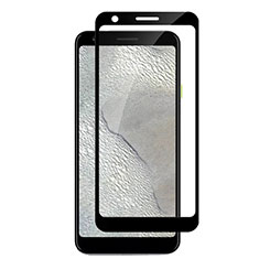 Ultra Clear Full Screen Protector Tempered Glass F04 for Google Pixel 3a Black