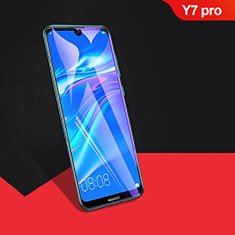 Ultra Clear Full Screen Protector Tempered Glass F04 for Huawei Y7 Pro (2019) Black