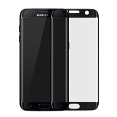 Ultra Clear Full Screen Protector Tempered Glass F04 for Samsung Galaxy S7 Edge G935F Black