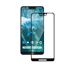 Ultra Clear Full Screen Protector Tempered Glass F05 for Google Pixel 3 XL Black