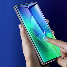 Ultra Clear Full Screen Protector Tempered Glass F05 for Samsung Galaxy Note 10 Plus 5G Black