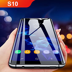 Ultra Clear Full Screen Protector Tempered Glass F05 for Samsung Galaxy S10 Black
