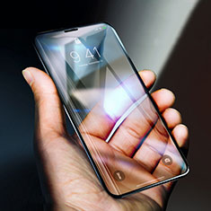 Ultra Clear Full Screen Protector Tempered Glass F06 for Apple iPhone X Black