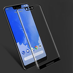 Ultra Clear Full Screen Protector Tempered Glass F06 for Google Pixel 3 XL Black