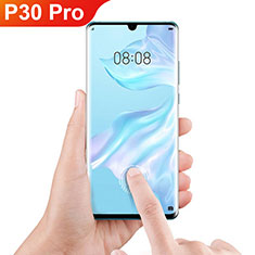 Ultra Clear Full Screen Protector Tempered Glass F06 for Huawei P30 Pro Black