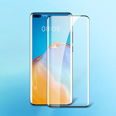 Ultra Clear Full Screen Protector Tempered Glass F07 for Huawei P40 Pro Black