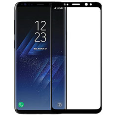 Ultra Clear Full Screen Protector Tempered Glass F07 for Samsung Galaxy S9 Black