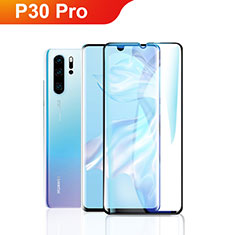 Ultra Clear Full Screen Protector Tempered Glass F09 for Huawei P30 Pro Black