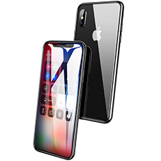 Ultra Clear Full Screen Protector Tempered Glass F10 for Apple iPhone X Black