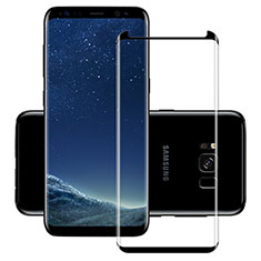 Ultra Clear Full Screen Protector Tempered Glass F11 for Samsung Galaxy S8 Black