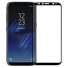 Ultra Clear Full Screen Protector Tempered Glass F12 for Samsung Galaxy S8 Black