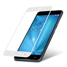 Ultra Clear Full Screen Protector Tempered Glass for Asus Zenfone 3 Zoom White