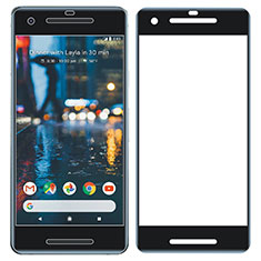 Ultra Clear Full Screen Protector Tempered Glass for Google Pixel 2 Black