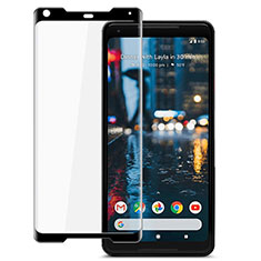Ultra Clear Full Screen Protector Tempered Glass for Google Pixel 2 XL Black
