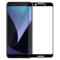Ultra Clear Full Screen Protector Tempered Glass for Google Pixel 3 Black