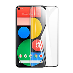 Ultra Clear Full Screen Protector Tempered Glass for Google Pixel 5 Black