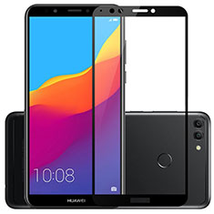 Ultra Clear Full Screen Protector Tempered Glass for Huawei Enjoy 8 Plus Black