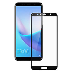 Ultra Clear Full Screen Protector Tempered Glass for Huawei Enjoy 8e Black