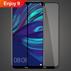 Ultra Clear Full Screen Protector Tempered Glass for Huawei Enjoy 9 Black