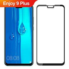 Ultra Clear Full Screen Protector Tempered Glass for Huawei Enjoy 9 Plus Black