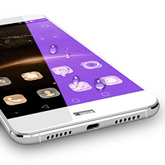 Ultra Clear Full Screen Protector Tempered Glass for Huawei G8 White