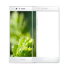 Ultra Clear Full Screen Protector Tempered Glass for Huawei G9 Lite White