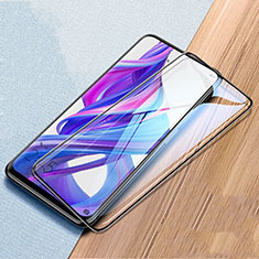 Ultra Clear Full Screen Protector Tempered Glass for Huawei Honor 9X Black