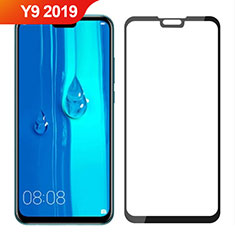 Ultra Clear Full Screen Protector Tempered Glass for Huawei Y9 (2019) Black