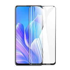 Ultra Clear Full Screen Protector Tempered Glass for Huawei Y9a Black
