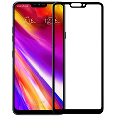 Ultra Clear Full Screen Protector Tempered Glass for LG G7 Black