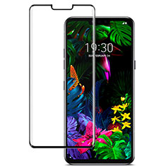 Ultra Clear Full Screen Protector Tempered Glass for LG G8 ThinQ Black