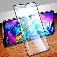 Ultra Clear Full Screen Protector Tempered Glass for LG G8X ThinQ Black