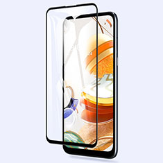 Ultra Clear Full Screen Protector Tempered Glass for LG K61 Black