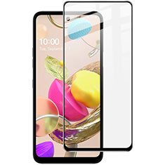 Ultra Clear Full Screen Protector Tempered Glass for LG Q52 Black