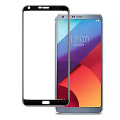 Ultra Clear Full Screen Protector Tempered Glass for LG Q7 Black