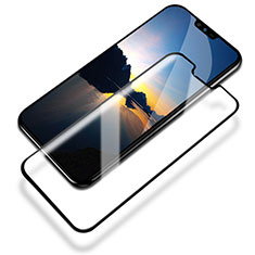 Ultra Clear Full Screen Protector Tempered Glass for LG V50 ThinQ 5G Black