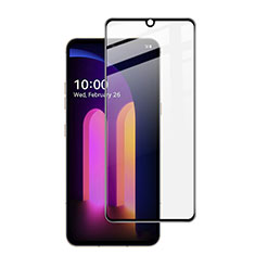 Ultra Clear Full Screen Protector Tempered Glass for LG V60 ThinQ 5G Black
