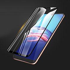 Ultra Clear Full Screen Protector Tempered Glass for Motorola Moto E (2020) Black