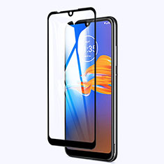 Ultra Clear Full Screen Protector Tempered Glass for Motorola Moto E6s (2020) Black