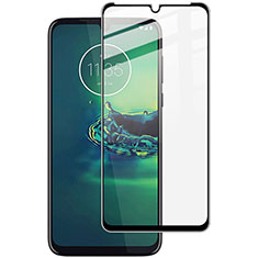 Ultra Clear Full Screen Protector Tempered Glass for Motorola Moto G8 Plus Black