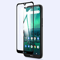 Ultra Clear Full Screen Protector Tempered Glass for Nokia 1.3 Black